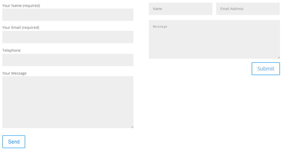 Make Contact Form 7 To Look Like Divi Contact Form Module