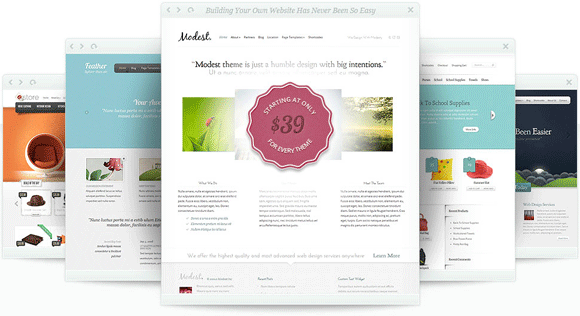 Newest  Elegant Themes WordPress Themes