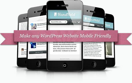 handheld wordpress plugin