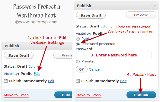password protect a wordpress post How To Password Protect a WordPress Post