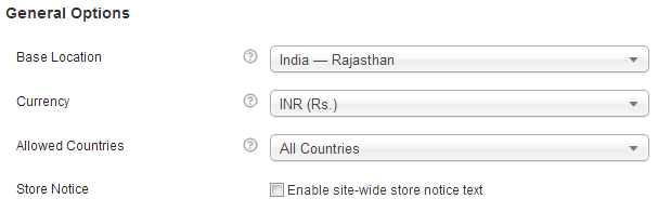 woocommerce indian currency rupee